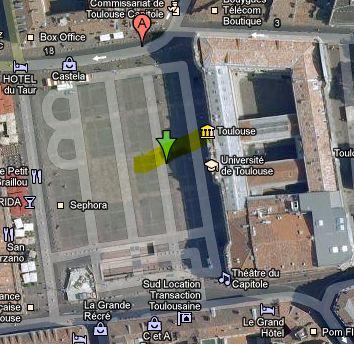 Résultat de recherche Google Map