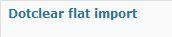 flatimport